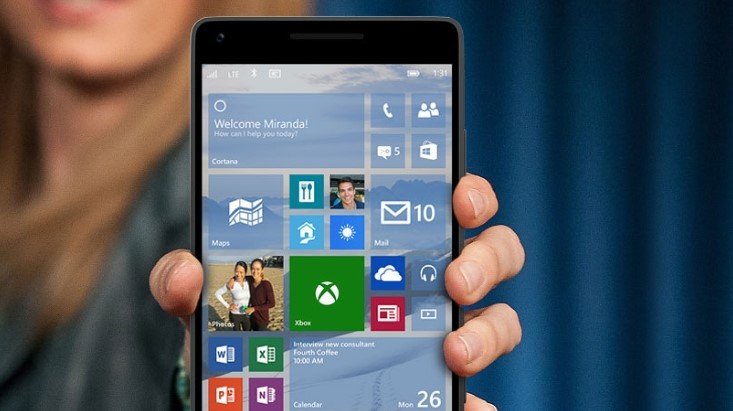 Support for Windows 10 Mobile