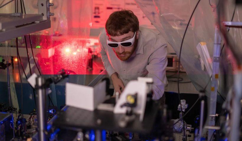 Laser-Cooled Plasma