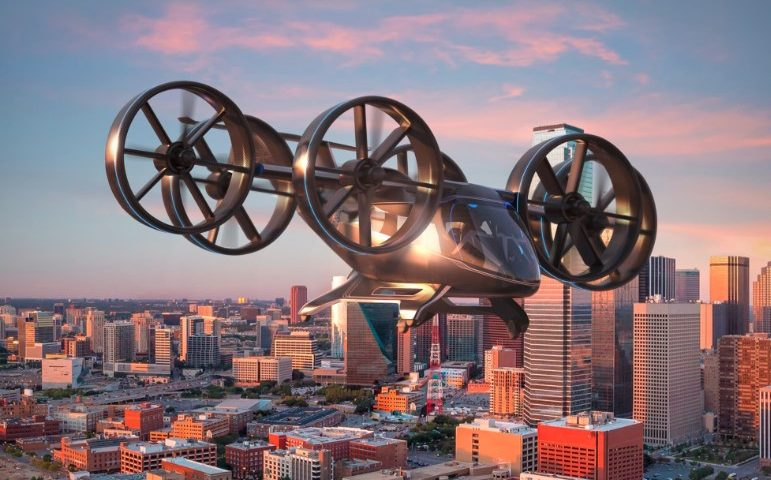 Finally Bell Helicopter Air Taxi Vehicle Has Been Unveiled