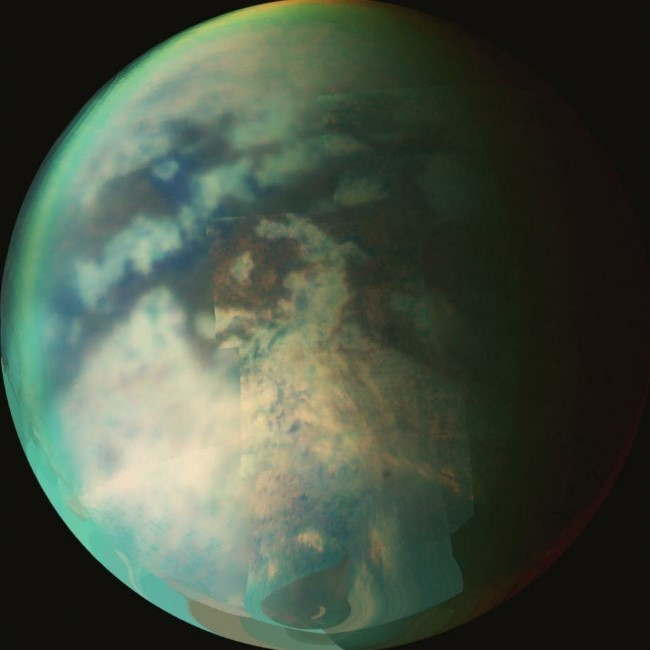 Scientists Find Rain on Saturn Largest Moon Titan