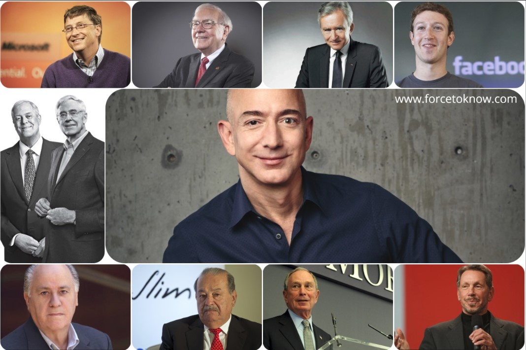 Top 10 Richest Men In The World 2018