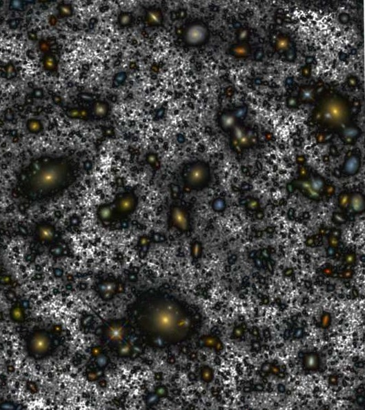 The latest version of Hubble's Hubble Ultra Deep Field