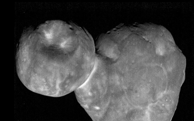 NASA Has Revealed Extraordinary Images of Ultima Thule Asteroid