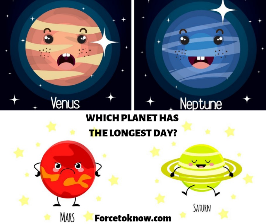 The Longest Day on Planet - Which One Has the Longest Day?