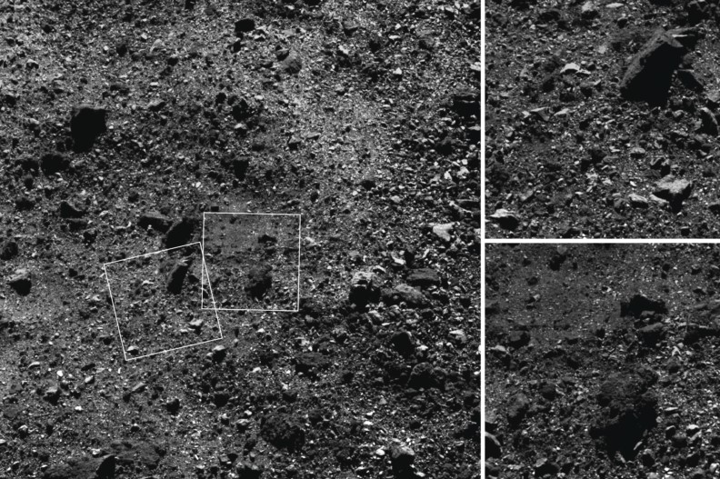 NASA Finds Mysterious Big Boulders at Bennu Asteroid