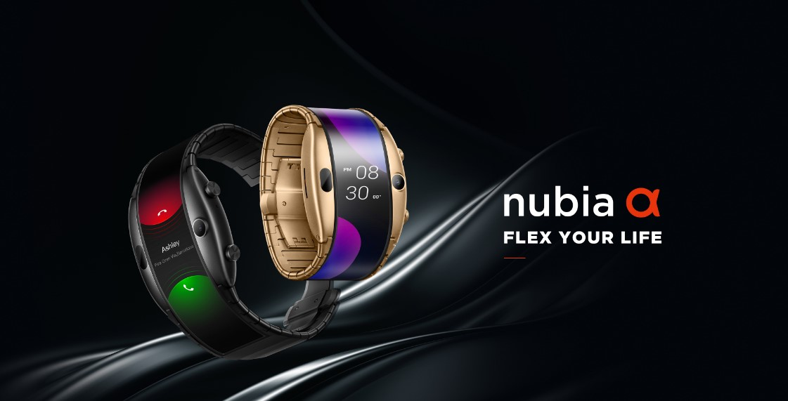 Chinese Company Launches a New Hybrid Smartwatch - Nubia Alpha Smartwatch