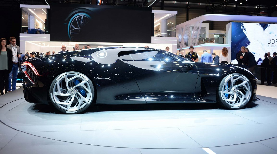 Bugatti La Voiture Noire Is the Most Expensive New Car Ever