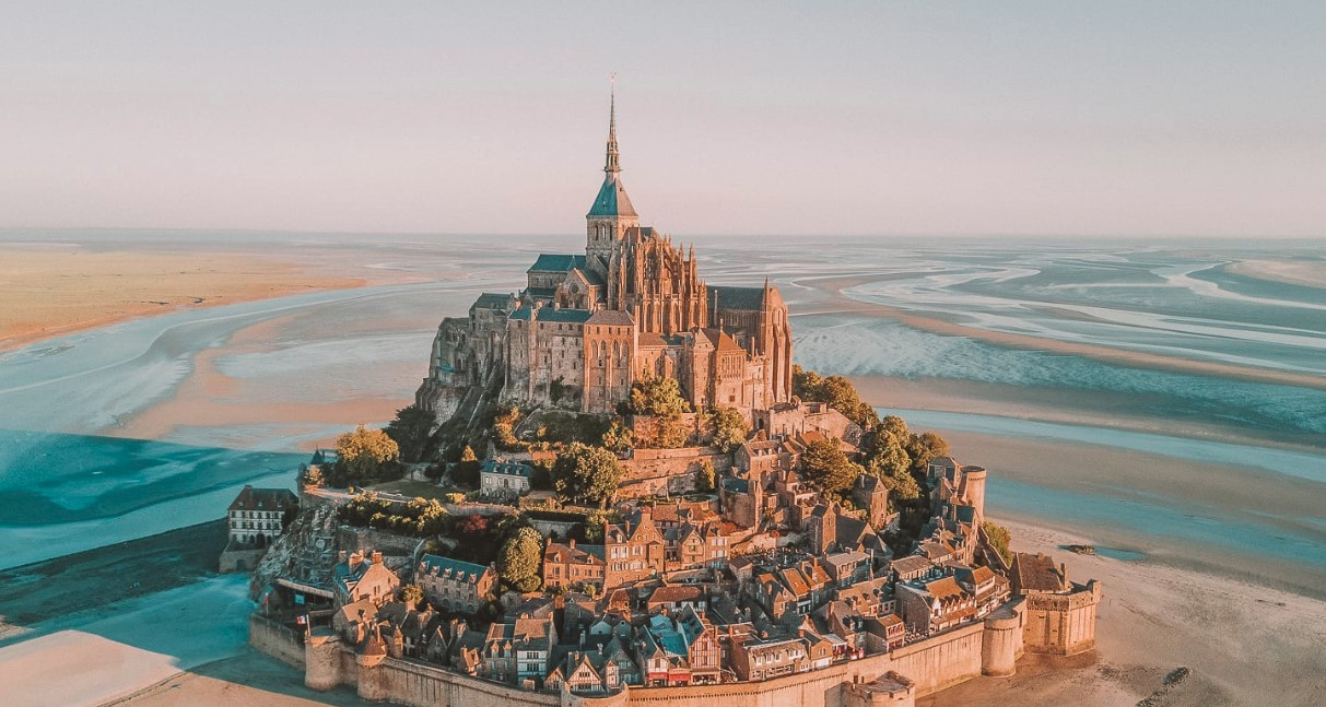 Meet and Discover Mont-Saint-Michel Which Is Located in France