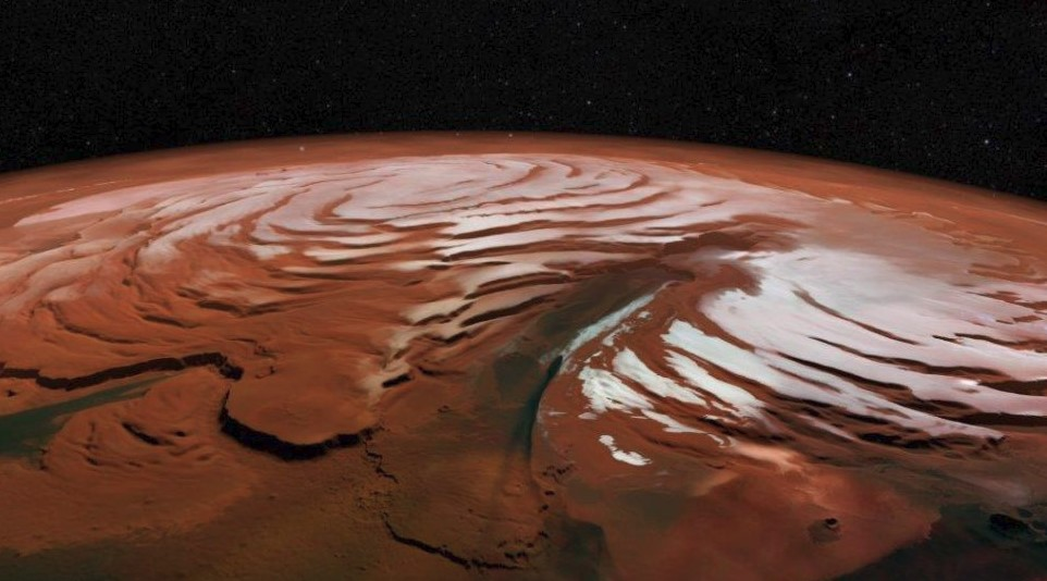 Scientists Indicated a Huge Amount of Water ice on Mars