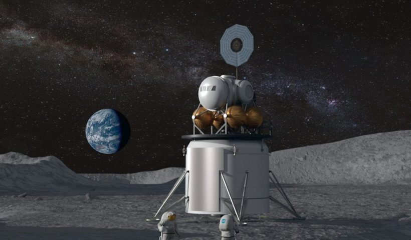 NASA Called New Moon Lander Project as Artemis
