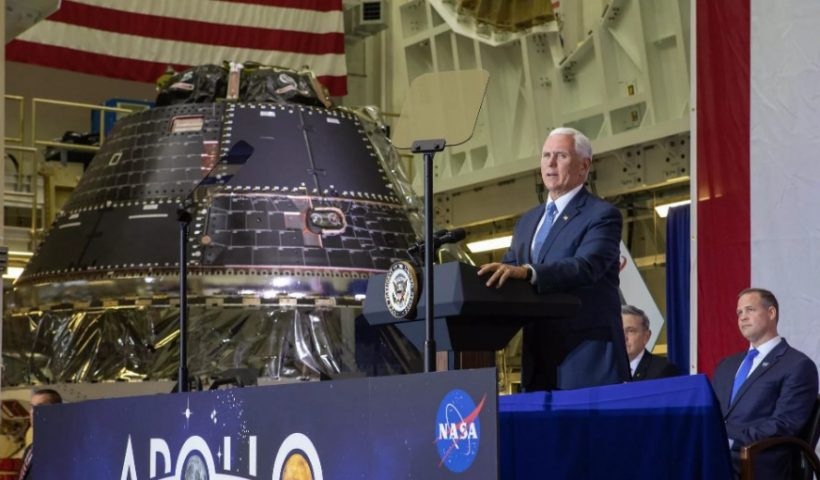NASA Reveals Spacecraft that will Take First Woman to the Moon