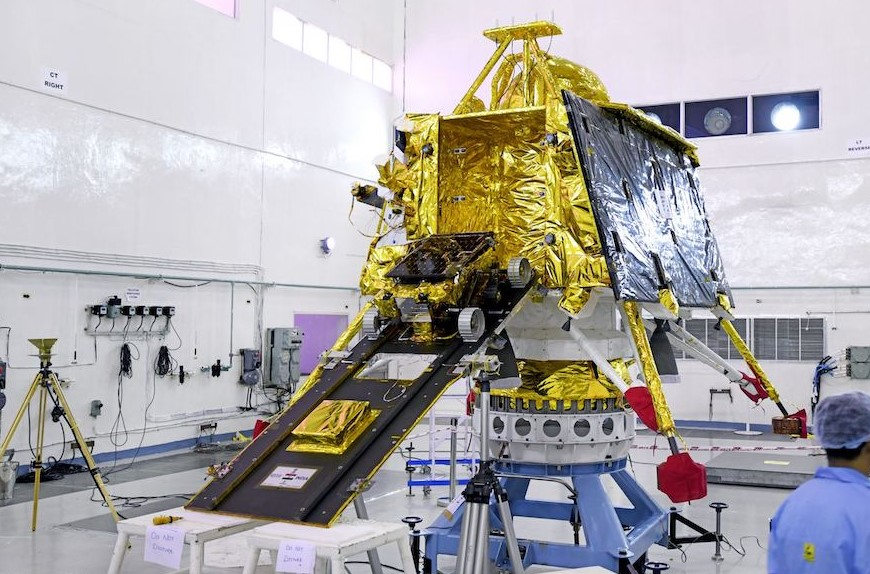 Finally, Chandrayaan-2 Lunar Orbiter Launched