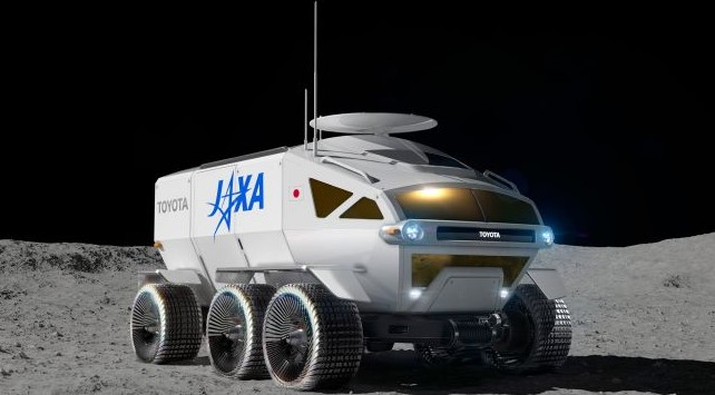 Toyota, Japan Launches JAXA-Toyota Moon Rover in 2029