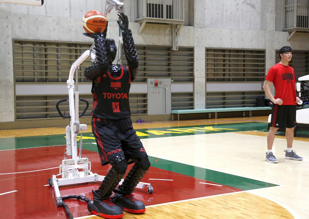 Toyota Has Created a Basketball Shooting Robot