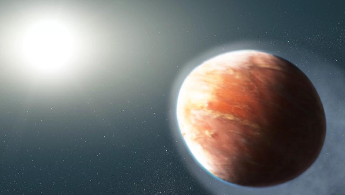 football shaped exoplanet