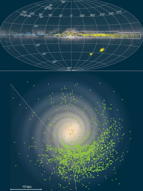 Astronomers Have Create 3D Map of the Galaxy Milky Way
