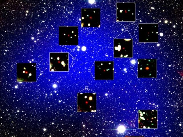 Astronomers Detected Collection of 12 Galaxies Existed 13.0 Billion Years Ago