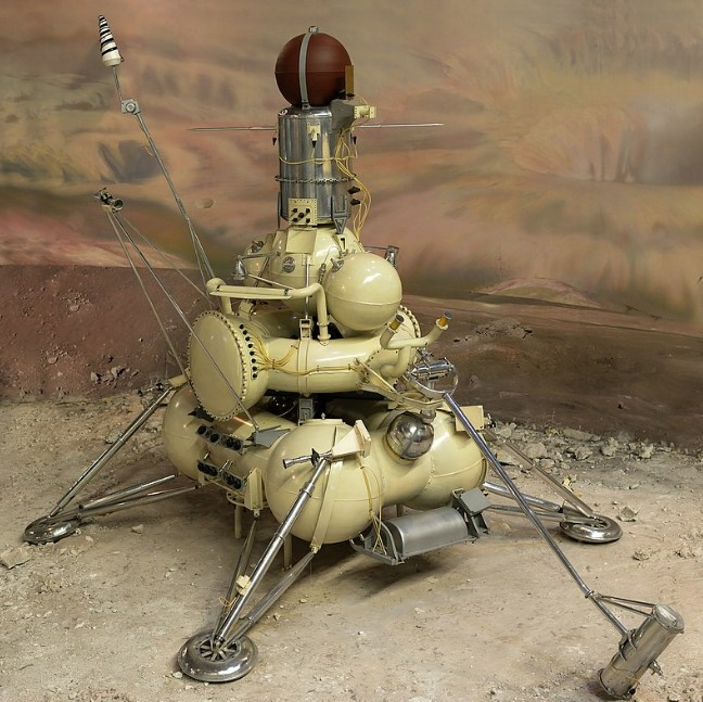 On September 20, 1970 Luna 16 Landed on the Moon
