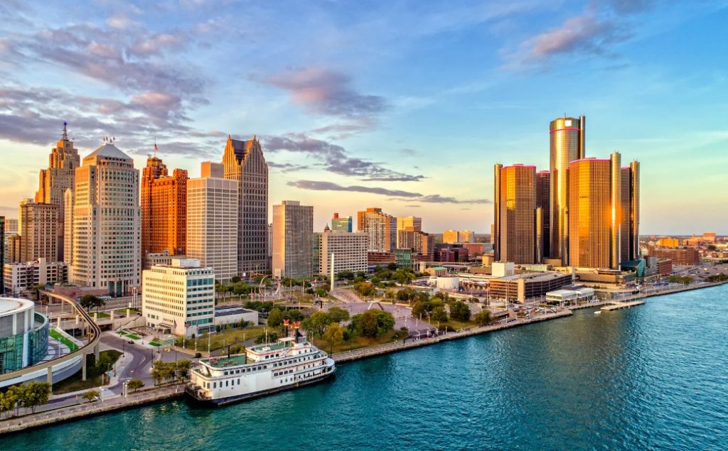 Detroit is the largest and most populous city in the U.S
