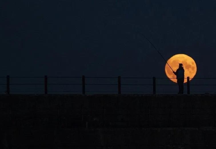 Full Moon Called Harvest Moon