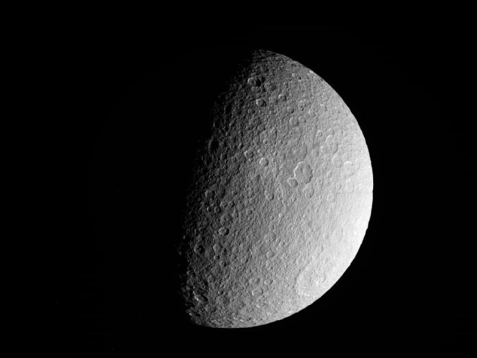 Saturn Moon Rhea