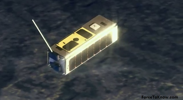 Nanosatellite Controlled by Google Nexus One